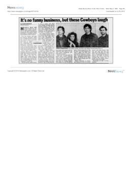 Townes Van Zandt Concert Appearances and Timeline